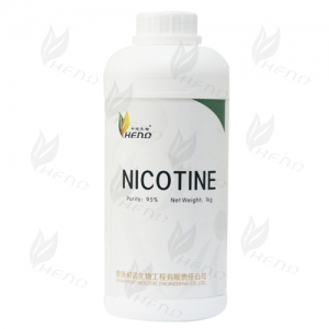E-liquid tobacco extraction purity nicotine